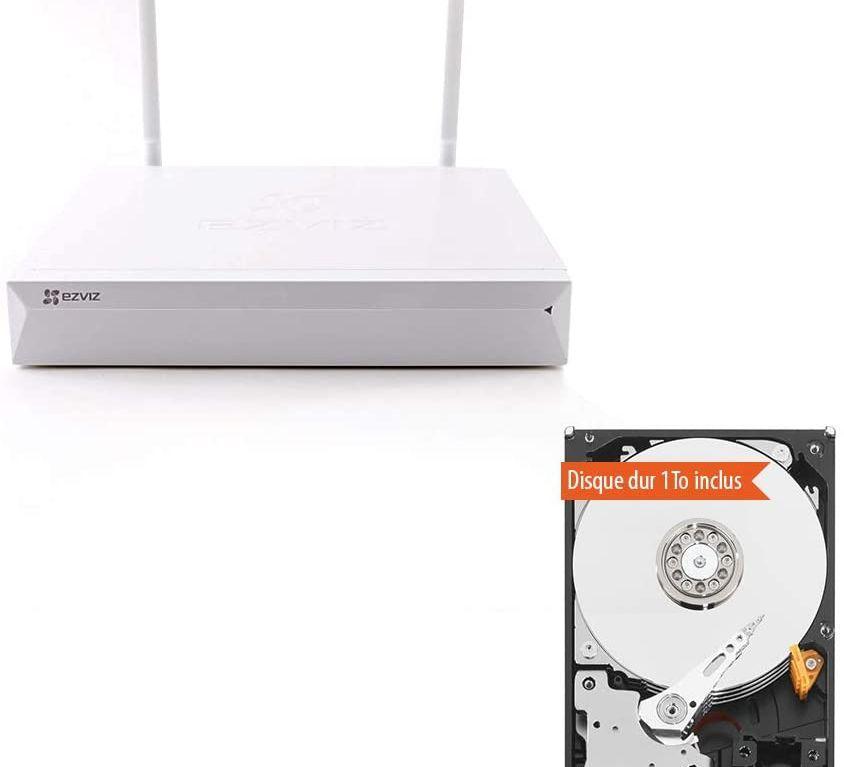 EZVIZ X5C-4 Grabador de vídeo en Red